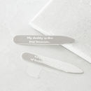 Best Daddy Silver Collar Stiffeners