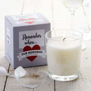Remember When Scented Candle - home accessories