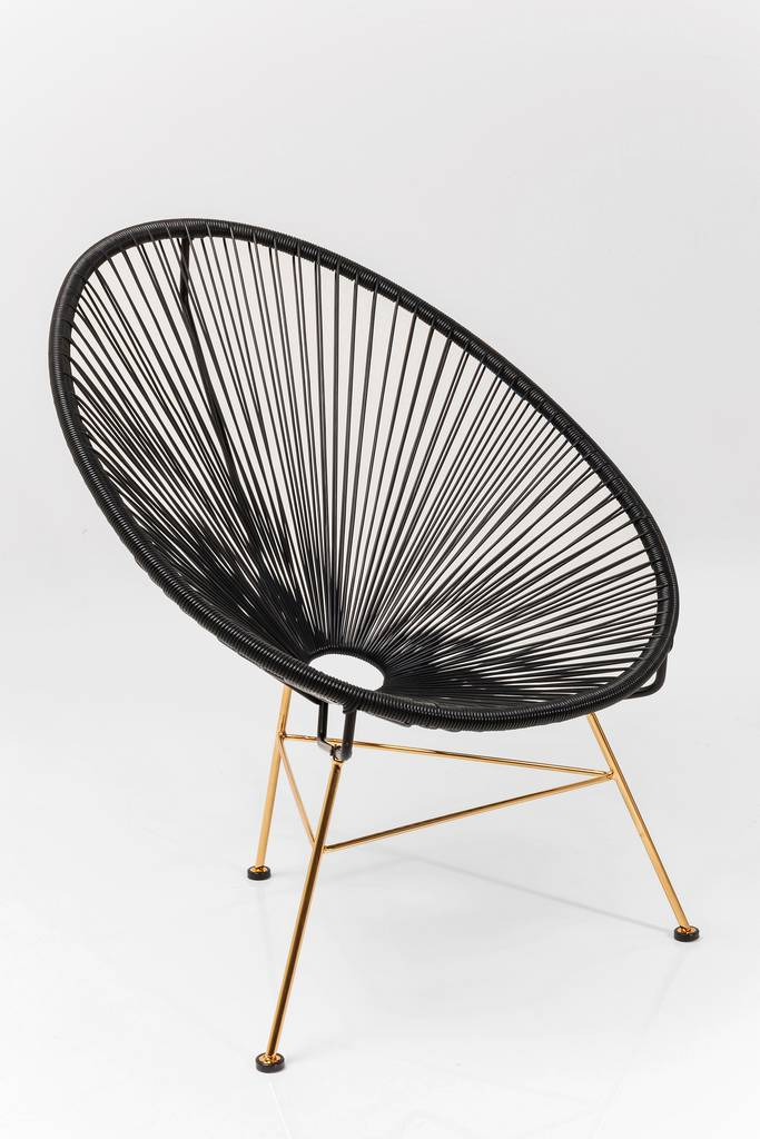 acapulco string metallic chair by i love retro. Black Bedroom Furniture Sets. Home Design Ideas