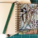 'What To Look For In Spring' Upcycled Notebook