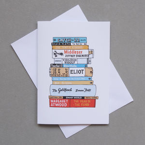 Literary Greats Card