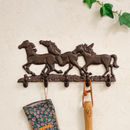 Cast Iron Equestrian Wall Hook