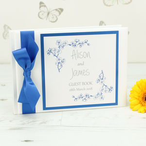 Personalised Emily Wedding Guest Book