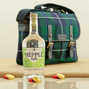 Hepple Gin And Douglas Modern Tartan Satchel