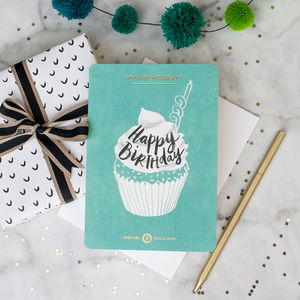'Hip Hip Hooray! Happy Birthday' Card - birthday cards