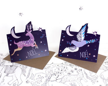 Pop Up Christmas Card Pack