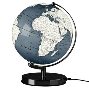 Grey Illuminated Globe