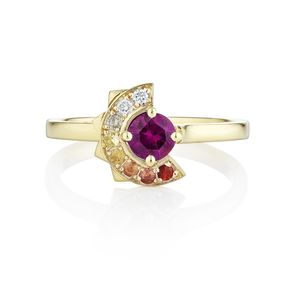 Kandinsky Ring - wedding jewellery