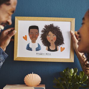 Personalised Illustrated Family Portrait