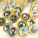 Chocolate Pirate Party Chocolate Foiled Coins Favours