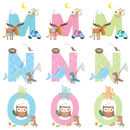 Personalised Alphabet Children's Thank You Cards