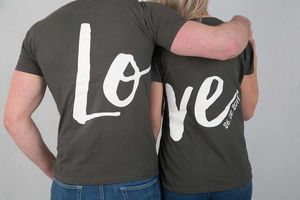 Love Personalised Tshirts - women's fashion