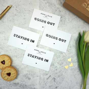 Date Night Cards Personalisation Upgrade