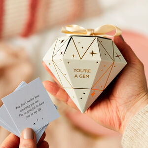 Personalised You're A Gem Token Gift