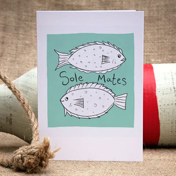 Sole Mates Valentine, Anniversary Or Engagement Card