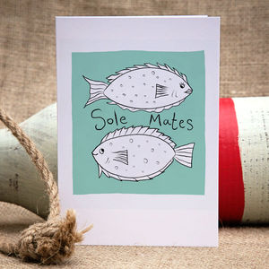 Sole Mates Anniversary Or Engagement Card