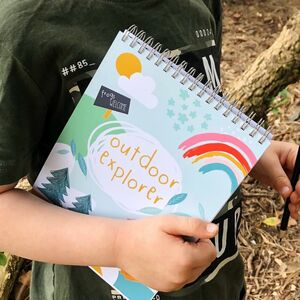 Children's Outdoor Activity Notebook