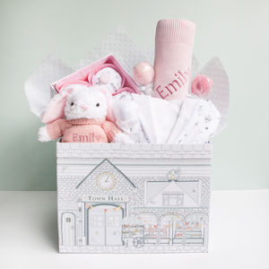 Little Love Sleepy Time Hamper, Pink - baby care