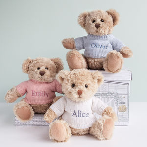 Personalised Bertie Bear