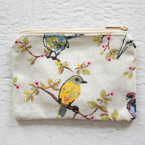 Hummingbird Print Coin Purse - bags, purses & wallets