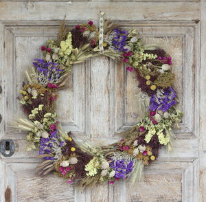 The Moccas Dried Flower Wreath