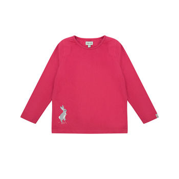 Pink Rabbit Layering Top