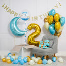 Inflated Baby Blue Birthday Morning Package