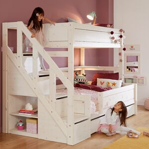 Lifetime Family Bunk Bed With Steps