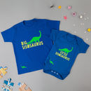 Little And Big Sibling Dinosaur T Shirts