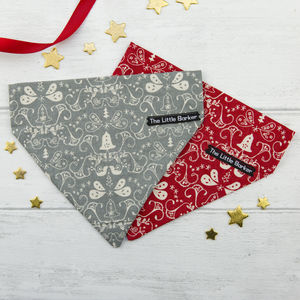 Scandi Bells Dog Bandana - dogs