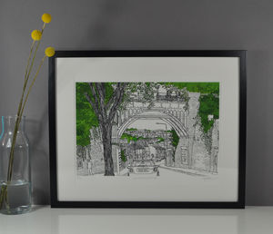 Brighton New England Road Bridge Print