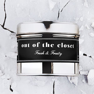 'Out Of The Closet' Fun Scented Candle - candles & home fragrance