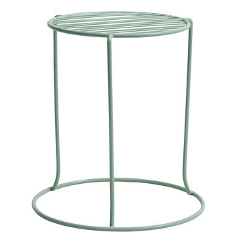 Happy Garden Stool In Three Colours