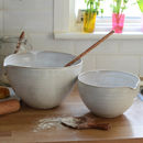 Hand Thrown Mixing Bowl With Lip