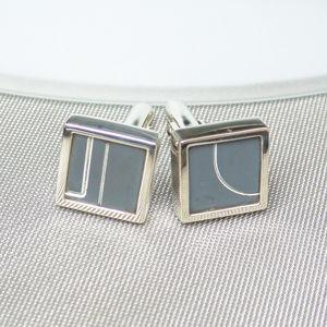 Concorde Sterling Silver Cufflinks - cufflinks