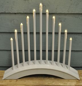 Arctic Christmas Candle Bridge