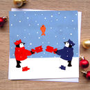 'Penguin Card', Cute Christmas Card
