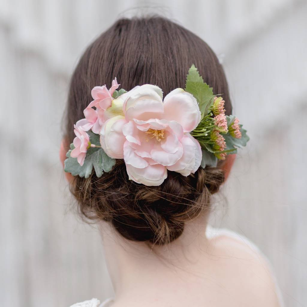 Pixie Pastel Flower Hair Comb