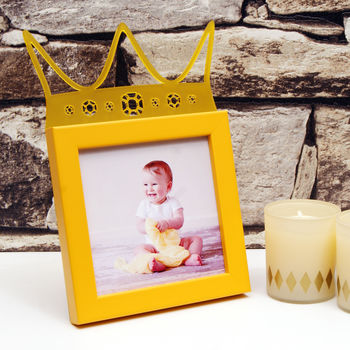 Child's 'Little Prince' Frame in Yellow