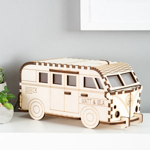 Camper Van, Large Lamp : Personalised - table & floor lamps