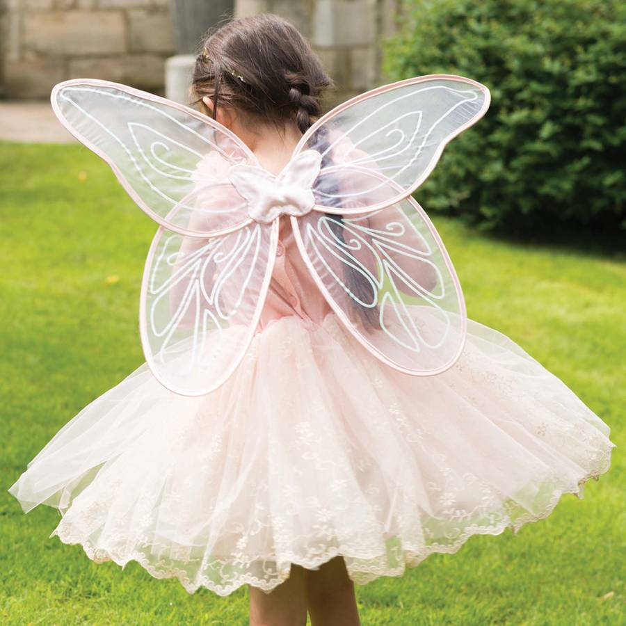 girls vintage fairy dress up costume by time to dress up