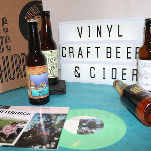 Vinyl, Craft Beer And Cider Discovery Box
