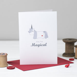 You're Magical Unicorn Card - cards & wrap sale