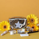 Mini Gold Star Pouch Filled With Stationery Accessories