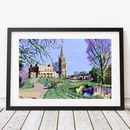 Clissold Park, Stoke Newington Illustration Print