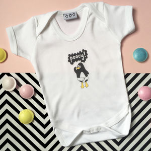 Pooey Penguin Babygrow - clothing