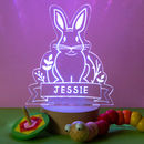 Personalised Rabbit Baby Night Light