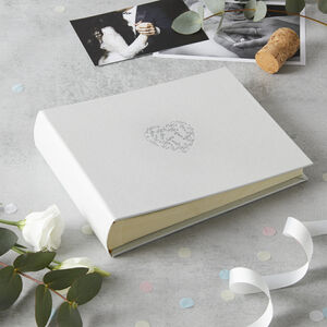 Floral Heart Photo Album Small