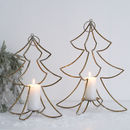 Hanging Christmas Tree Candle Holder