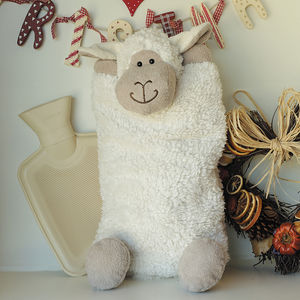 Sheep Hot Water Bottle Cover/Pyjama Case